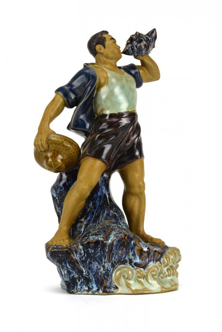 Shiwan Glazed Pottery Figure, 1966-1976 - 2
