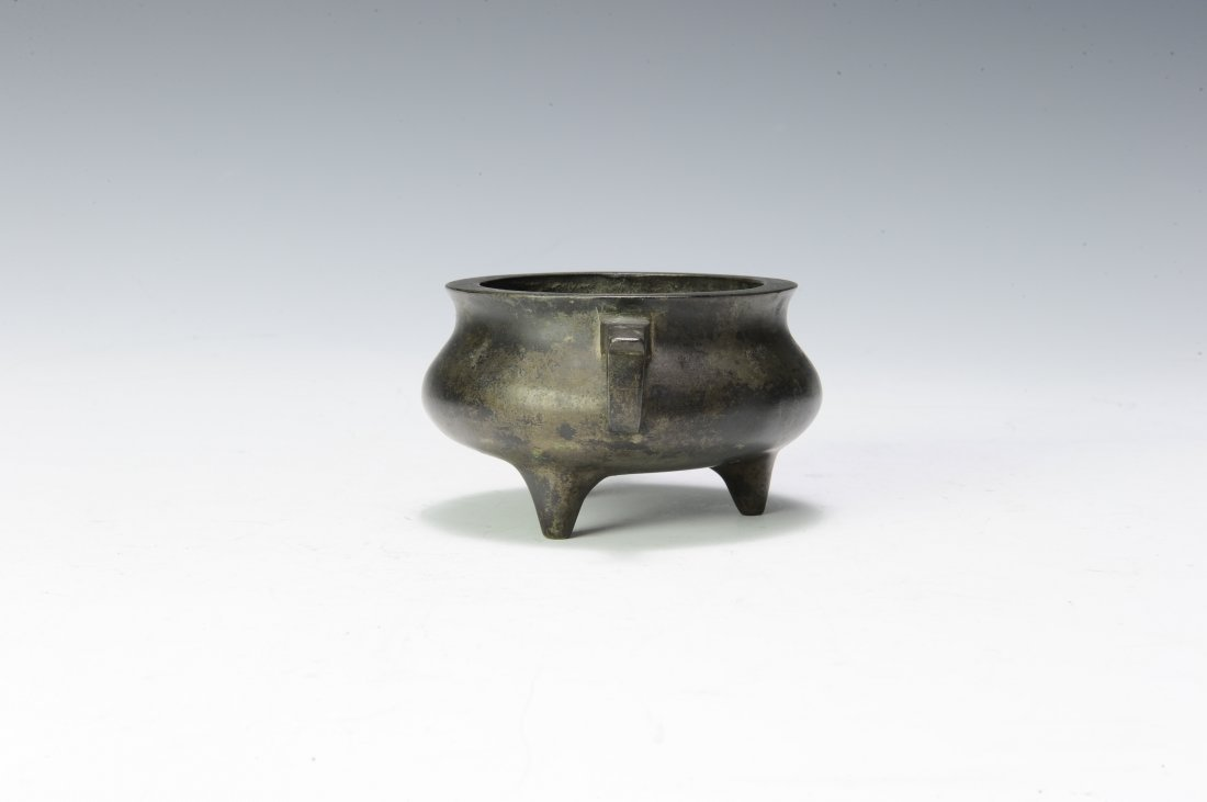 Small Bronze Tripod, 19th - 20th Century - 4