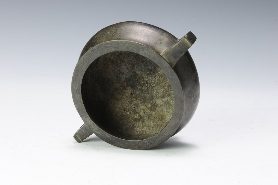Small Bronze Tripod, 19th - 20th Century - 6