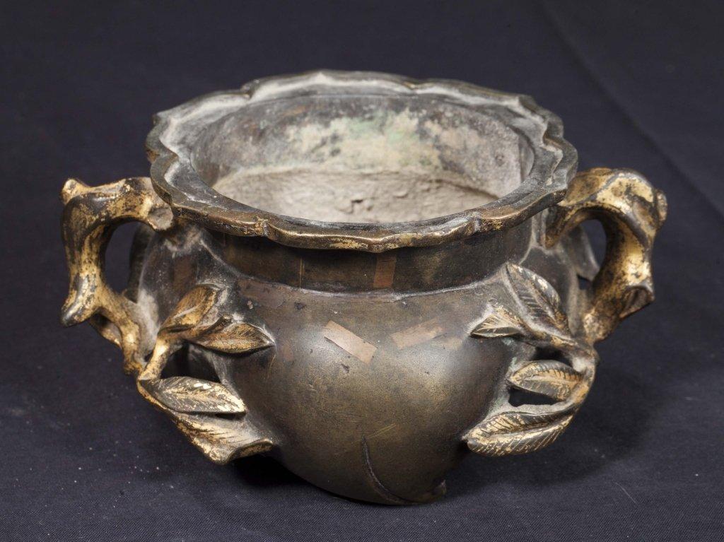 Gilt Bronze Incense Burner, 18th-19th Century - 6