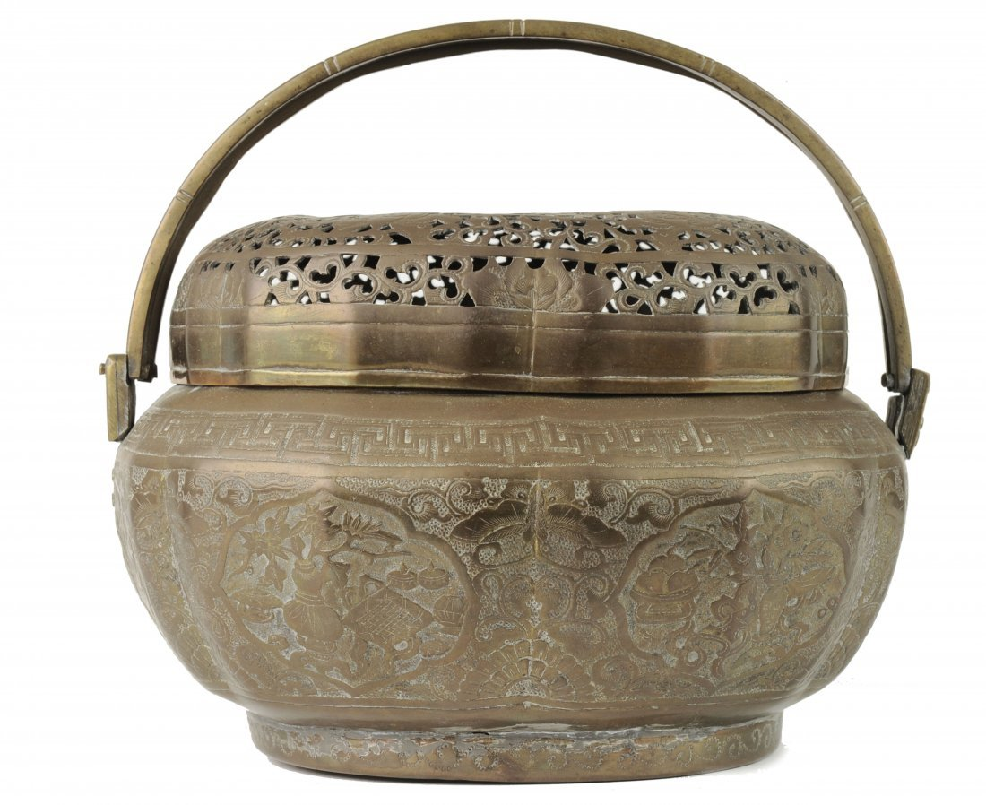 Brass Hand Warmer, 19th Century