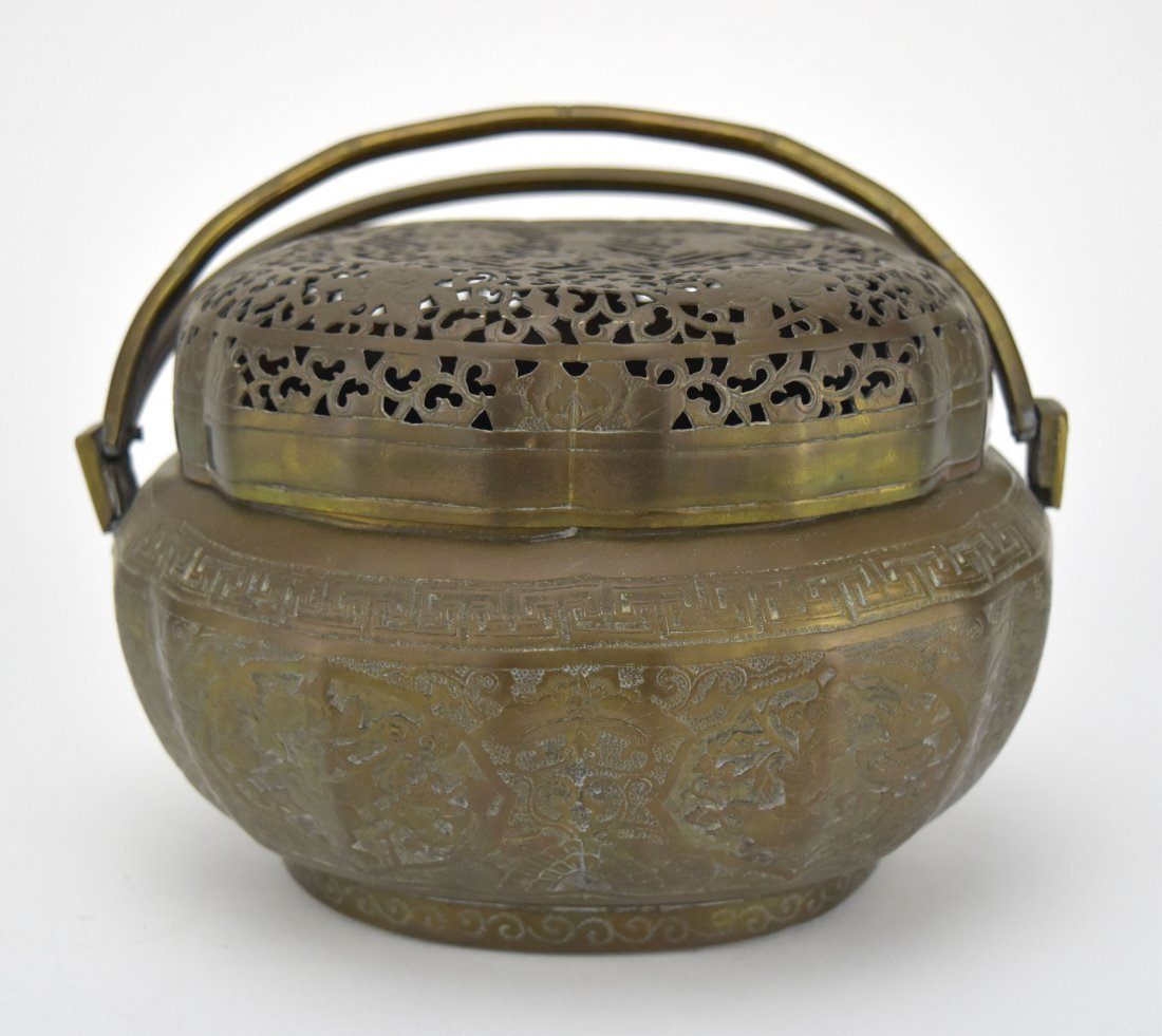 Brass Hand Warmer, 19th Century - 4