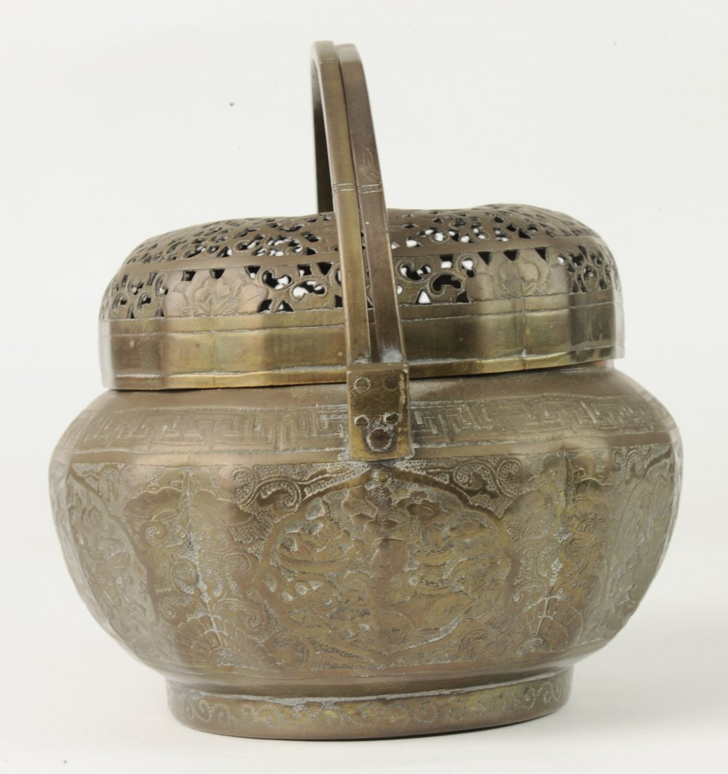 Brass Hand Warmer, 19th Century - 5