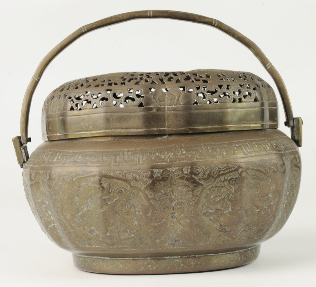 Brass Hand Warmer, 19th Century - 6