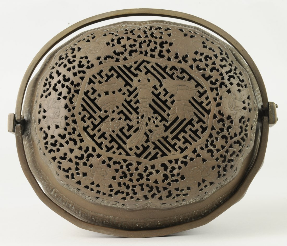 Brass Hand Warmer, 19th Century - 9
