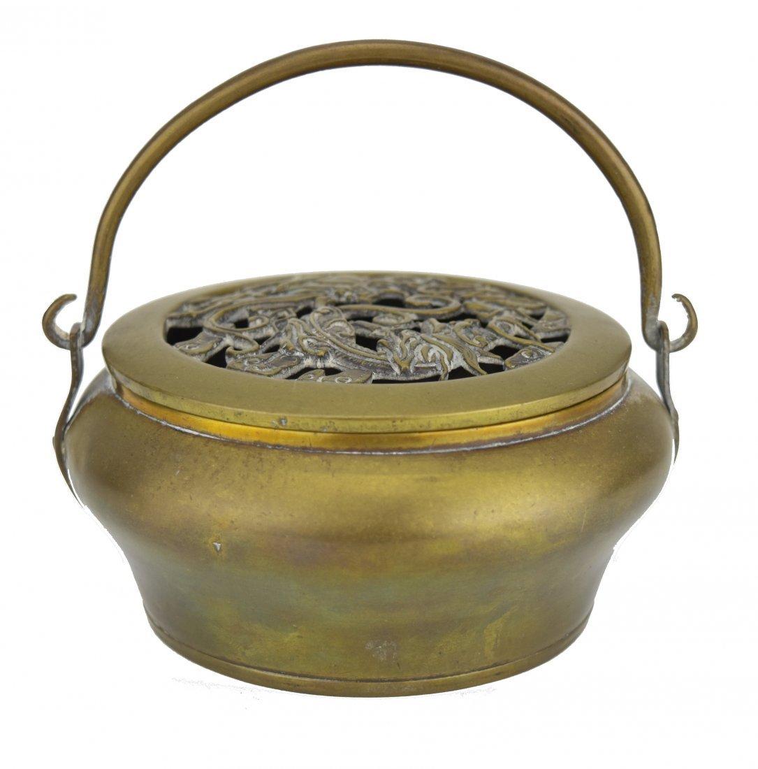 Brass Hand Warmer, 19th Century