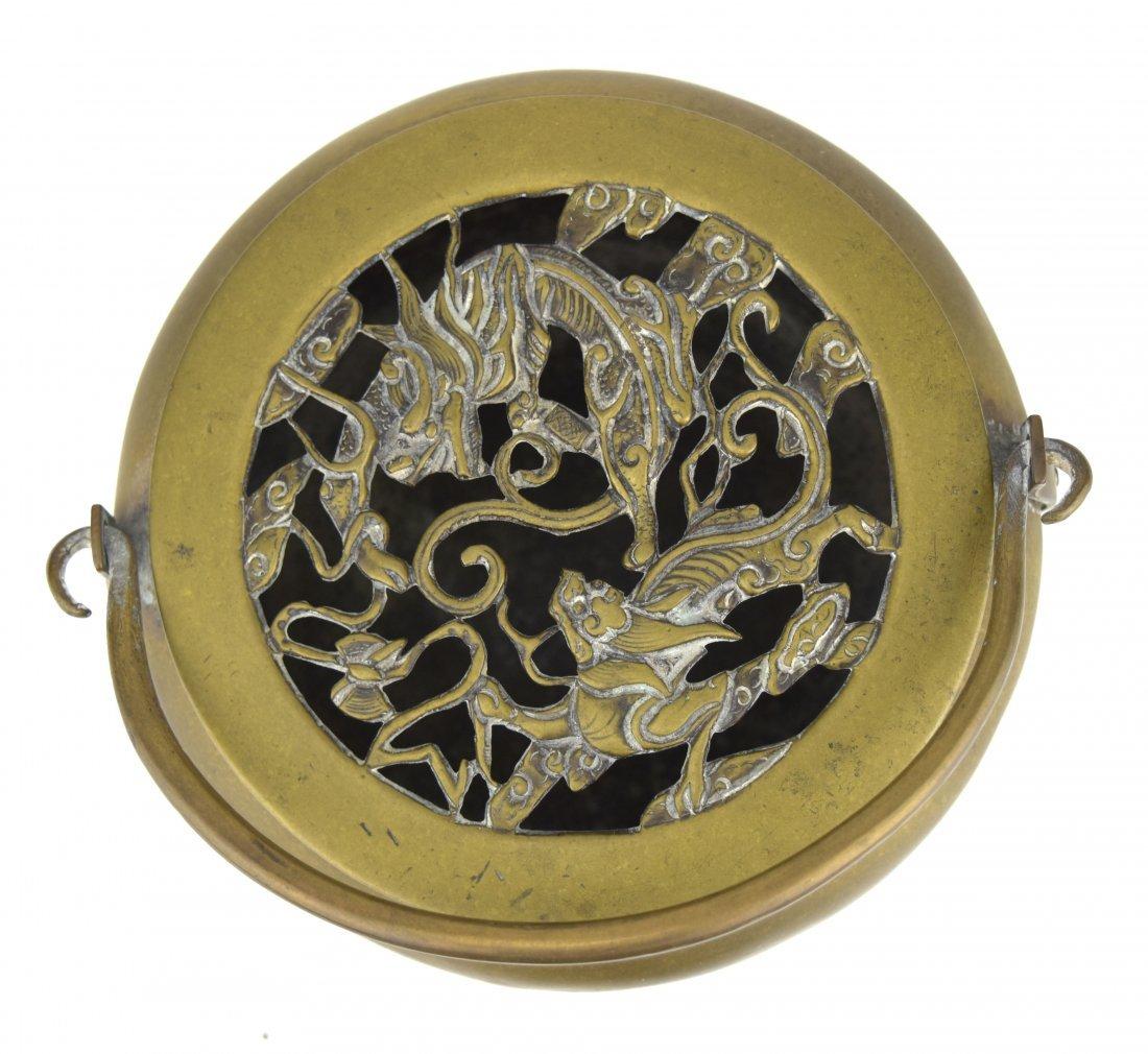 Brass Hand Warmer, 19th Century - 2