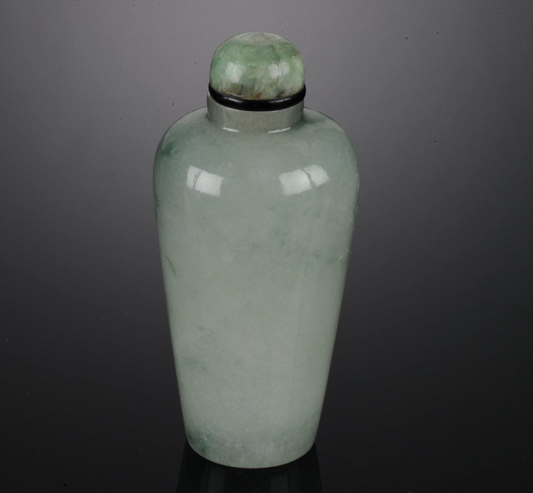 A Jadeite Snuff Bottle - 4