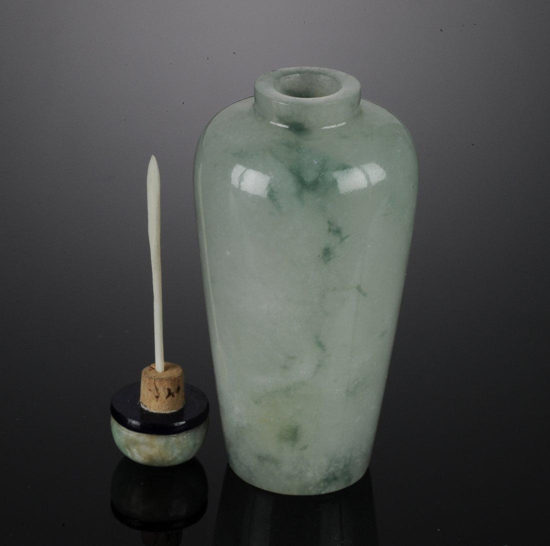 A Jadeite Snuff Bottle - 6