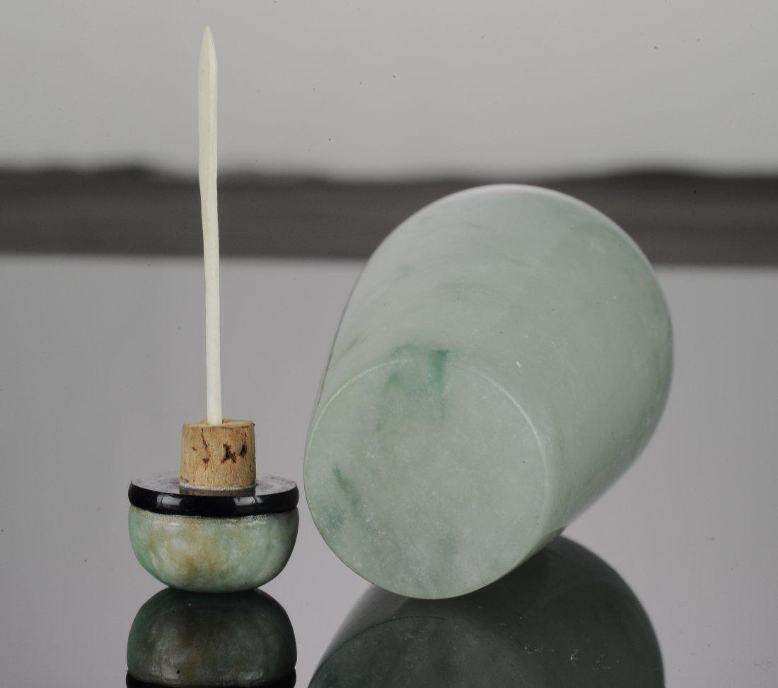 A Jadeite Snuff Bottle - 8