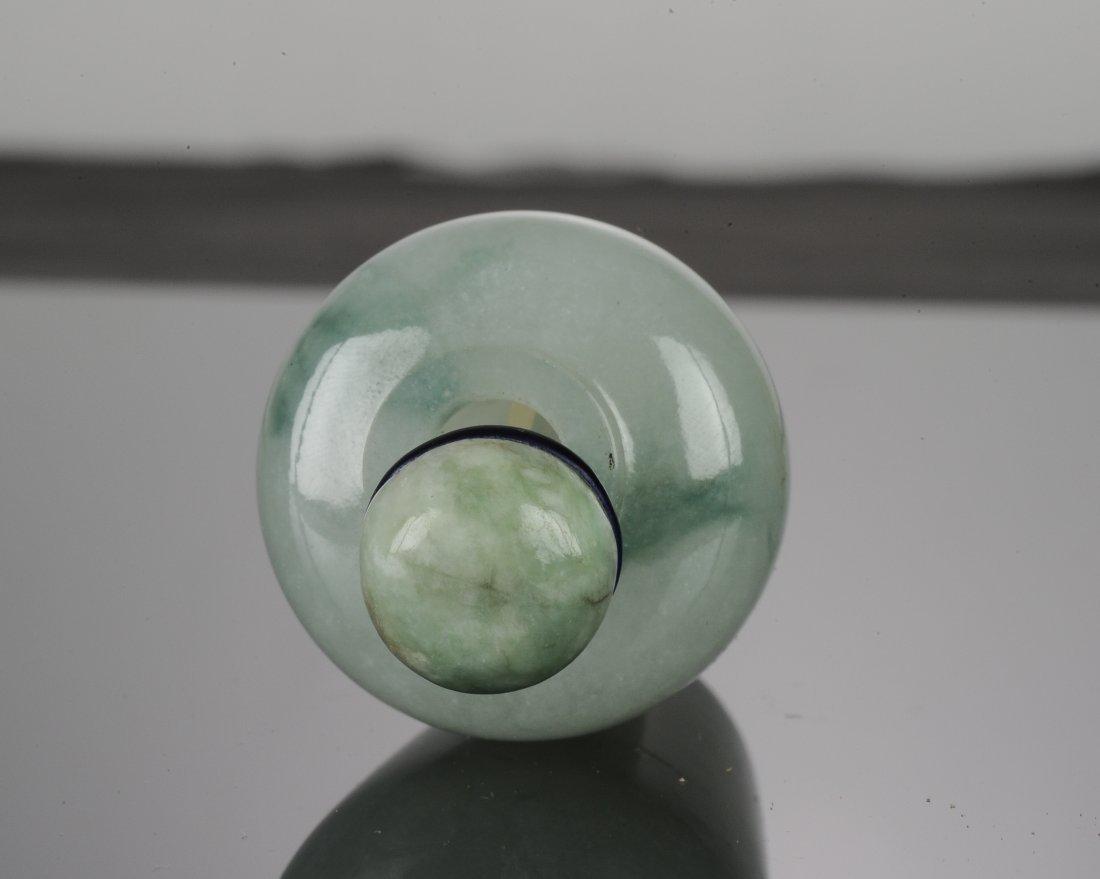 A Jadeite Snuff Bottle - 9