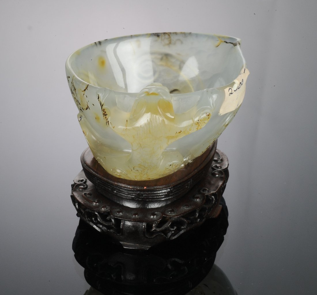 Agate Cup with Chilong Handle, Ming Dynasty - 5