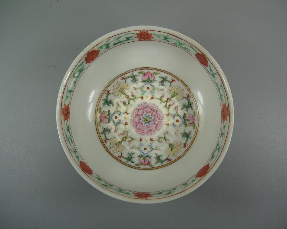 Daoguang Imperial Famille Rose Ruby-Ground Bowl - 10