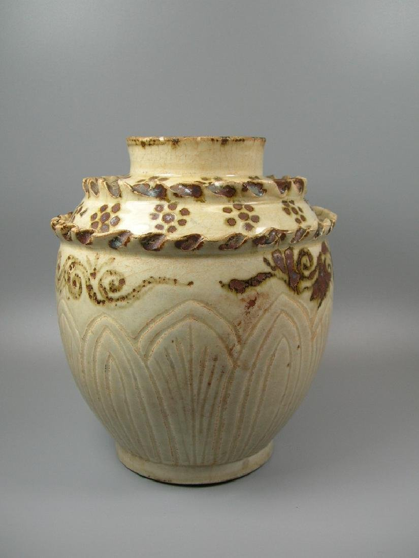Rare Cizhou-Type Jar Song Dynasty - 4