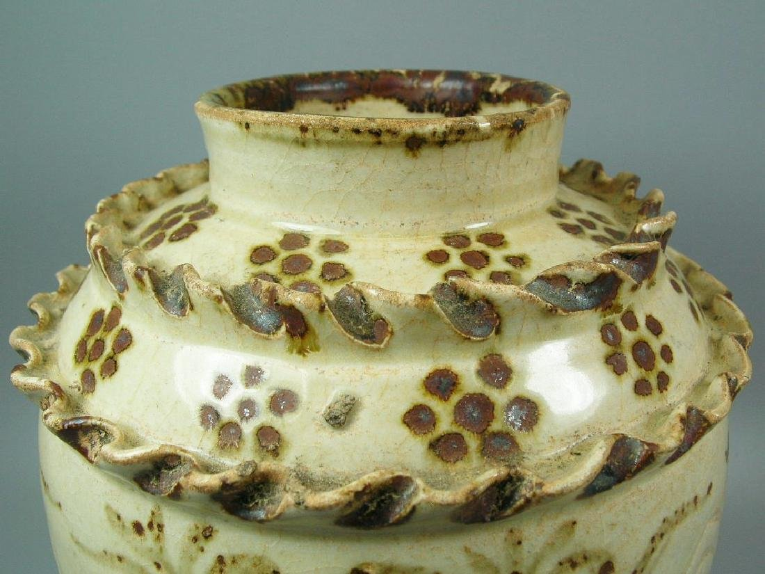 Rare Cizhou-Type Jar Song Dynasty - 5