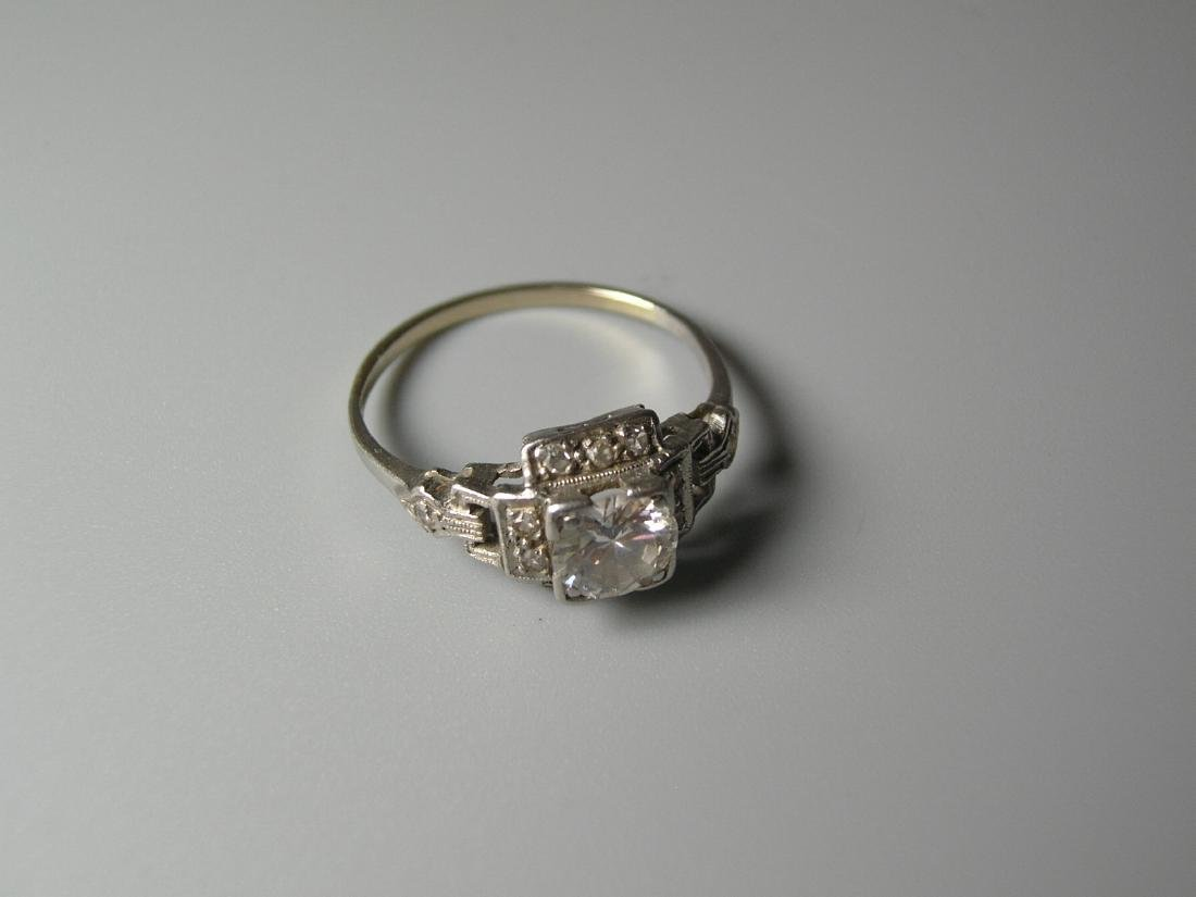 Platinum Diamond Ring - 2