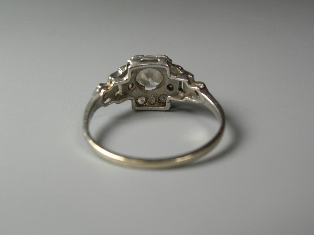 Platinum Diamond Ring - 3