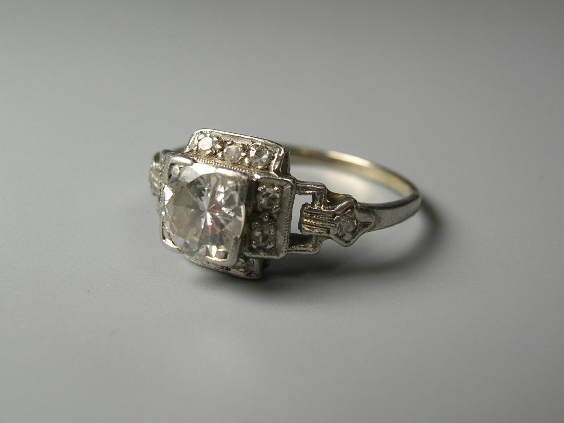 Platinum Diamond Ring - 4
