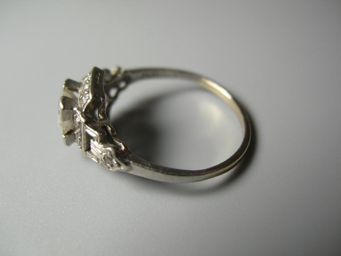Platinum Diamond Ring - 5