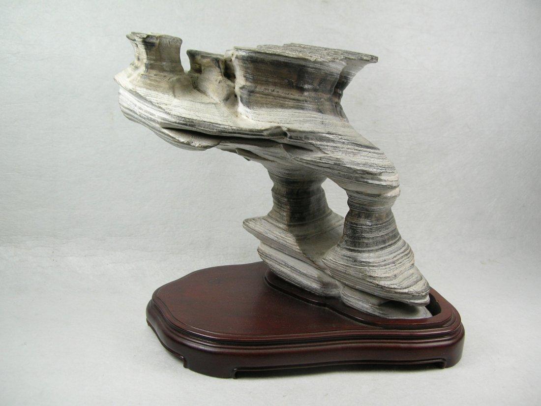 Elegant Chinese Scholar's Rock