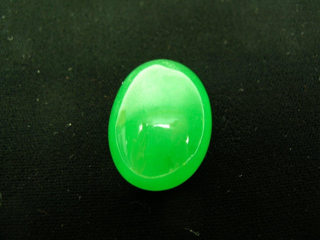 Chinese Apple-Green Jadeite Ring Top
