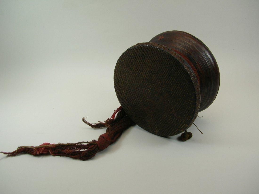 Antique Tibetan Hand Drum - 2