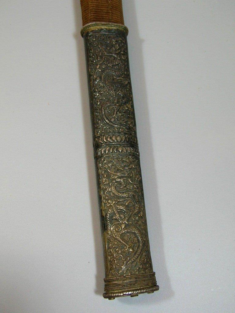 Important antique Sino-Tibetan Sword 19th Century - 4