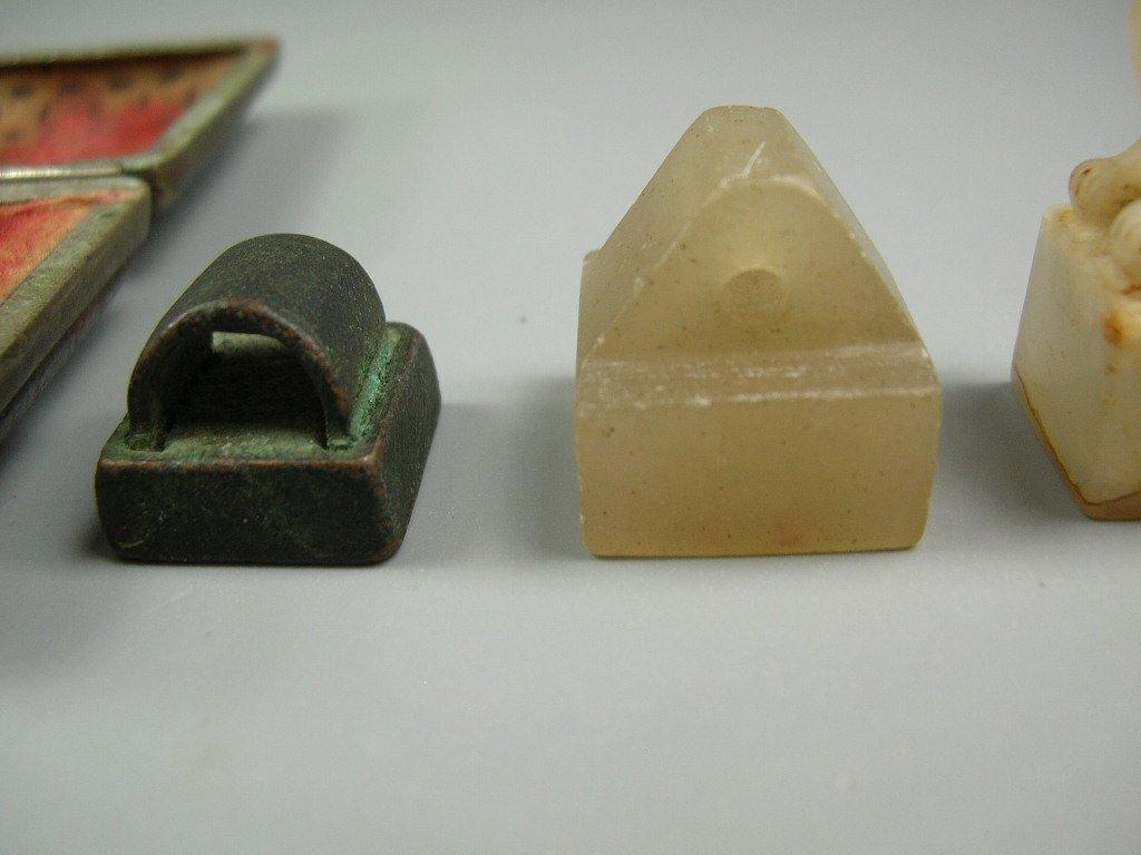 Group of Four Antique Seals - 3