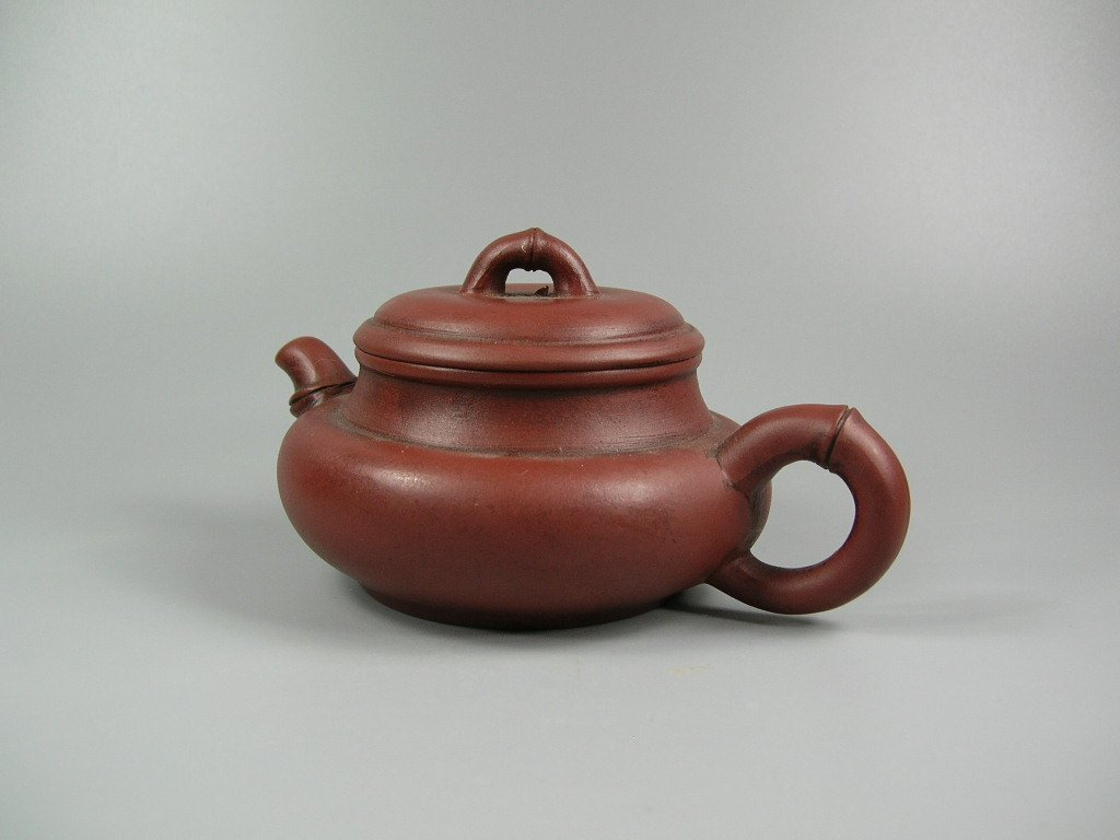 Fine Small Chinese Yixing Teapot Marked - 2