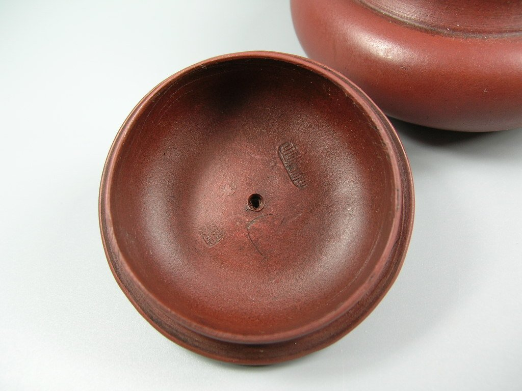 Fine Small Chinese Yixing Teapot Marked - 8