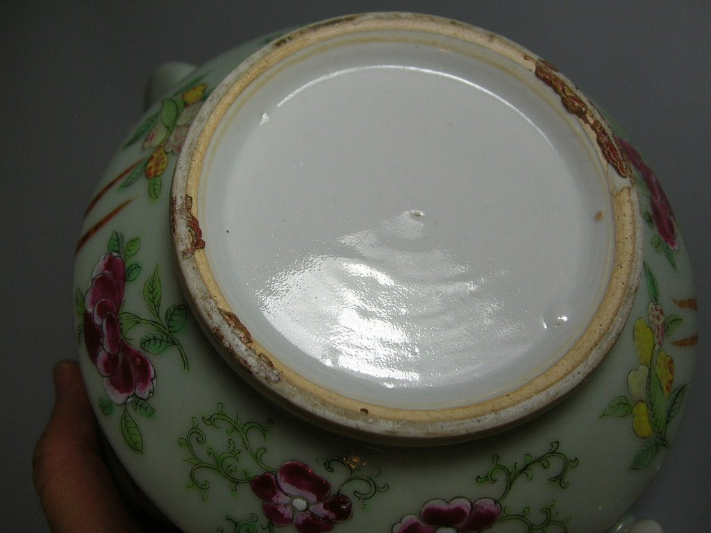 Antique Chinese Famille-Rose Tea Set Qing Dynasty - 10