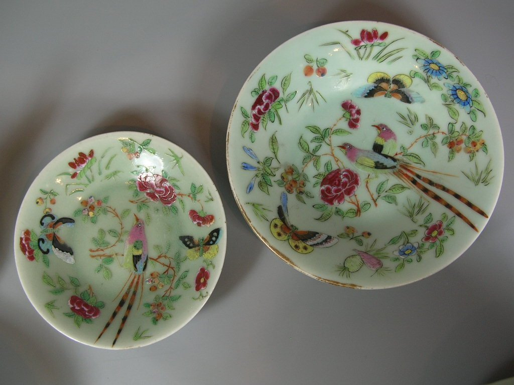 Antique Chinese Famille-Rose Tea Set Qing Dynasty - 7