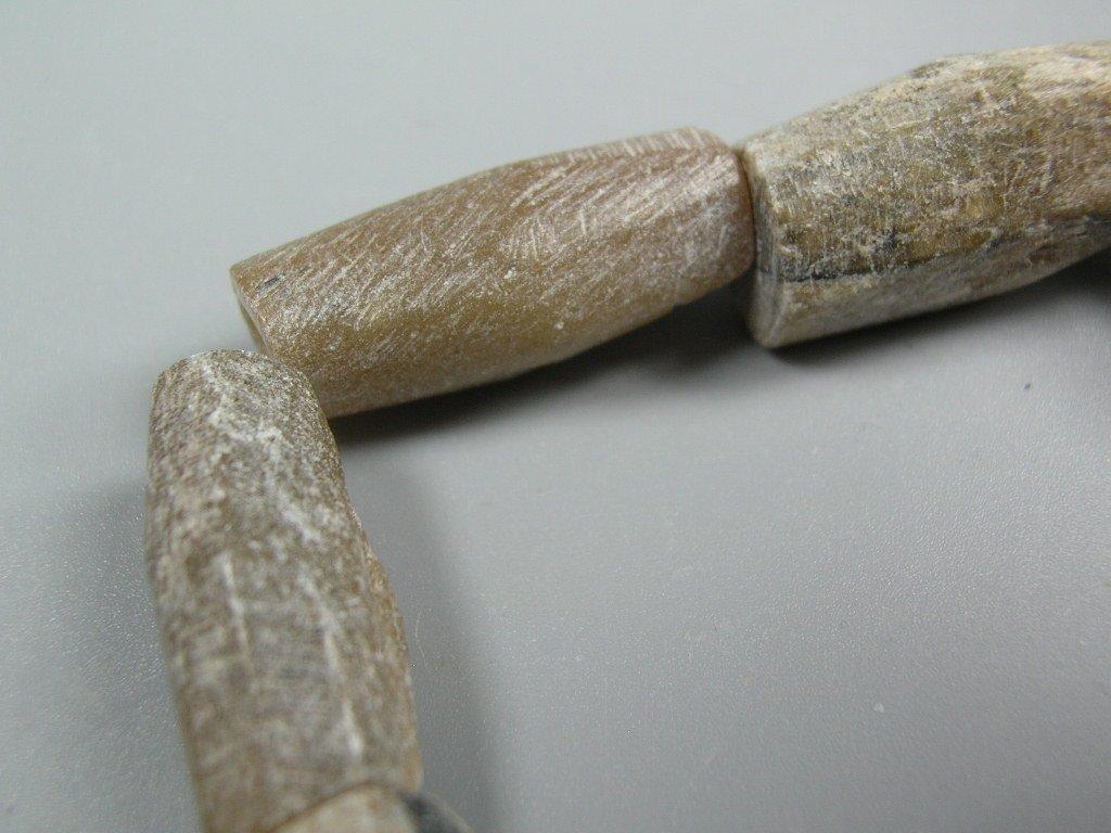 Nine Ancient Talc Bead Bracelet - 3
