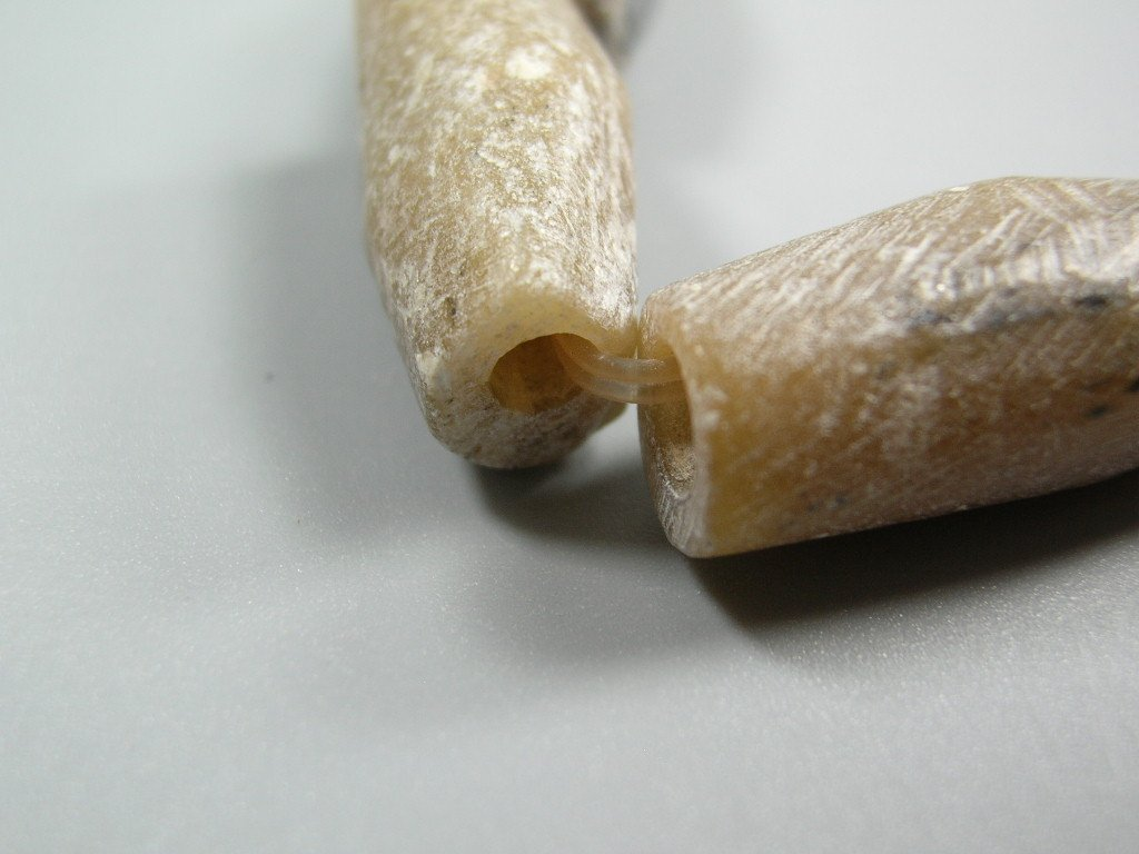 Nine Ancient Talc Bead Bracelet - 5