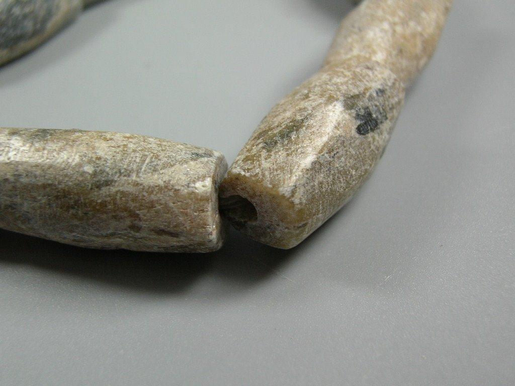 Nine Ancient Talc Bead Bracelet - 6