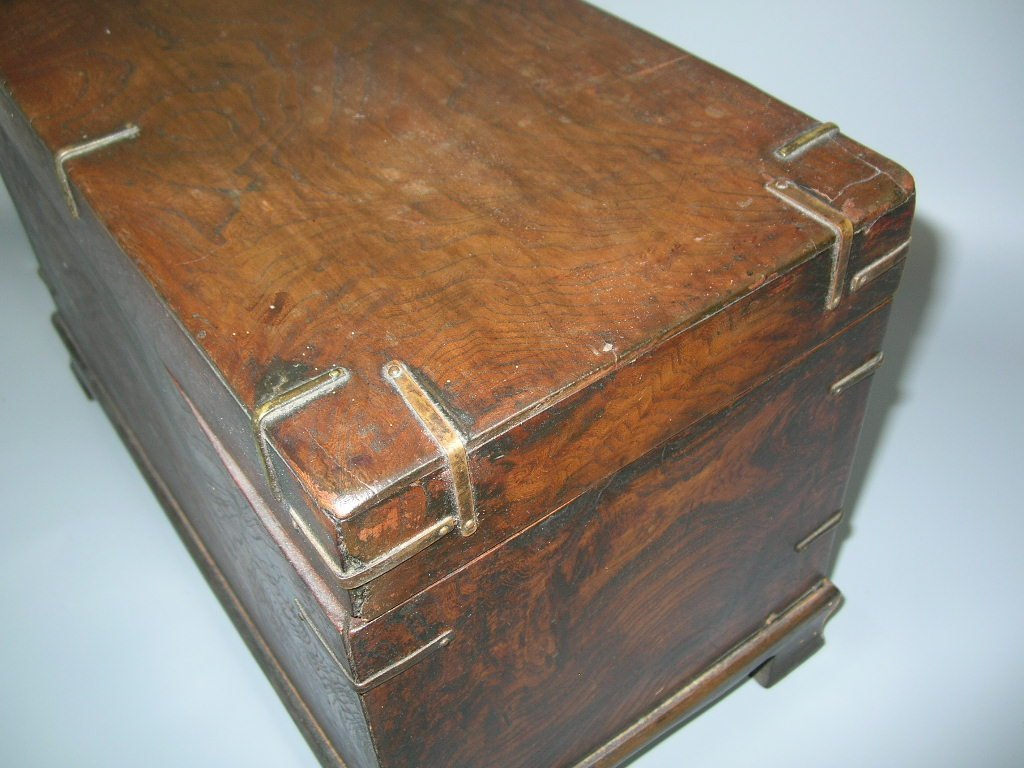 Two Antique Korean Wooden Boxes - 7