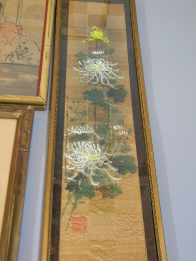 Group of Old Chinese and Japanese Paintings - 4