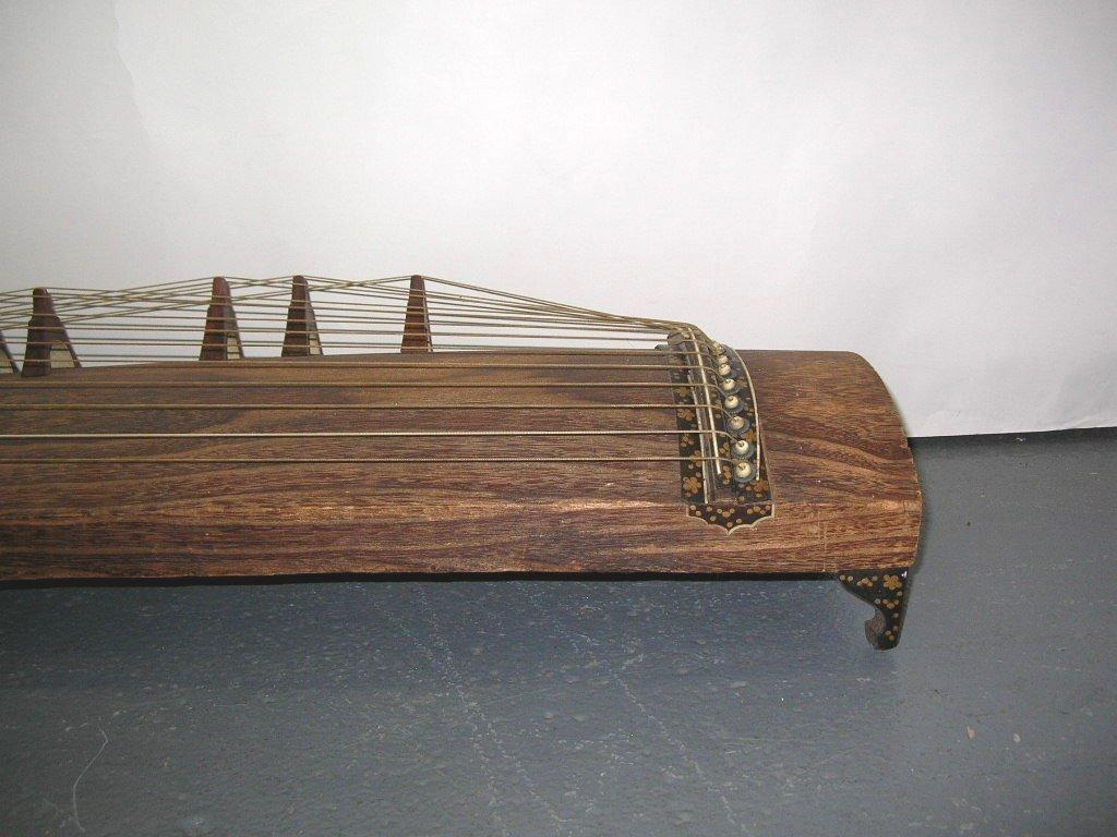 Antique Japanese 13-String Koto Guzheng - 3