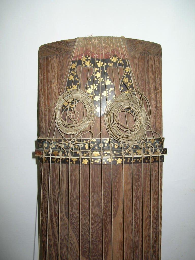 Antique Japanese 13-String Koto Guzheng - 4
