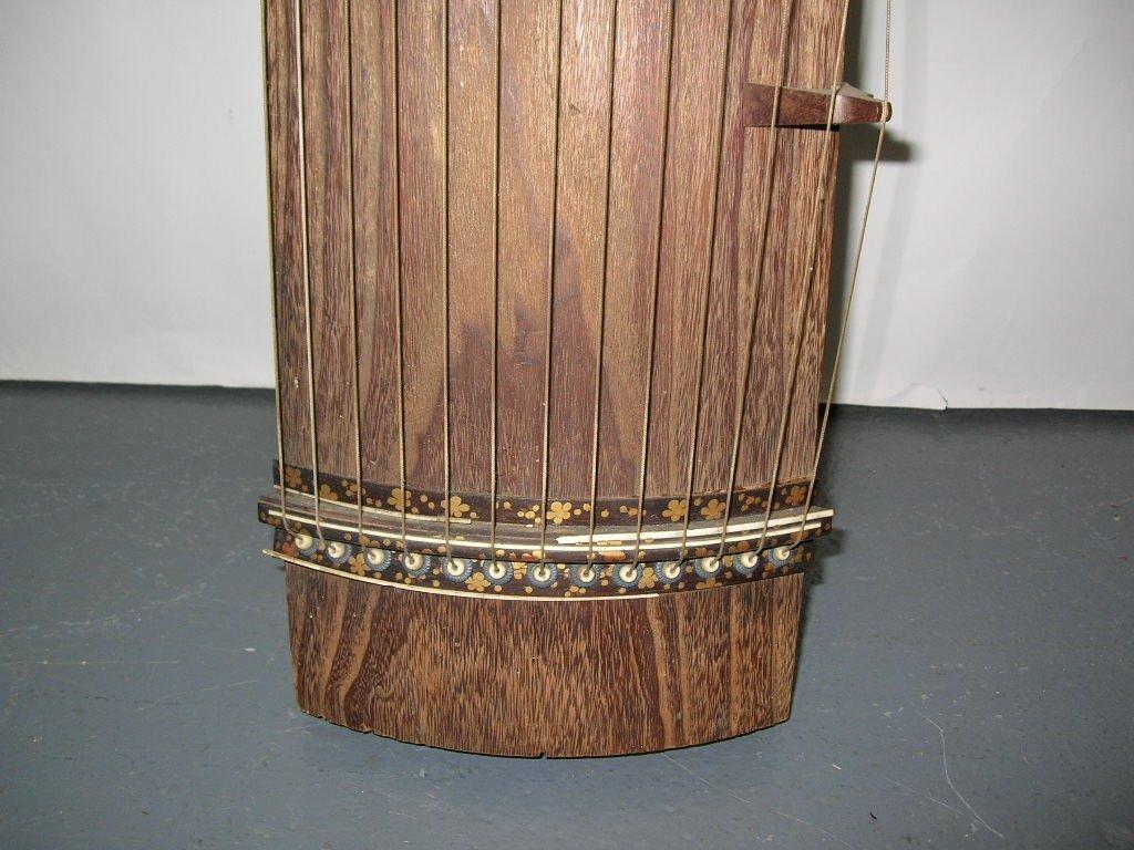 Antique Japanese 13-String Koto Guzheng - 5
