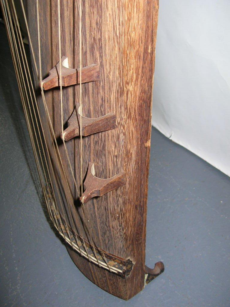 Antique Japanese 13-String Koto Guzheng - 6