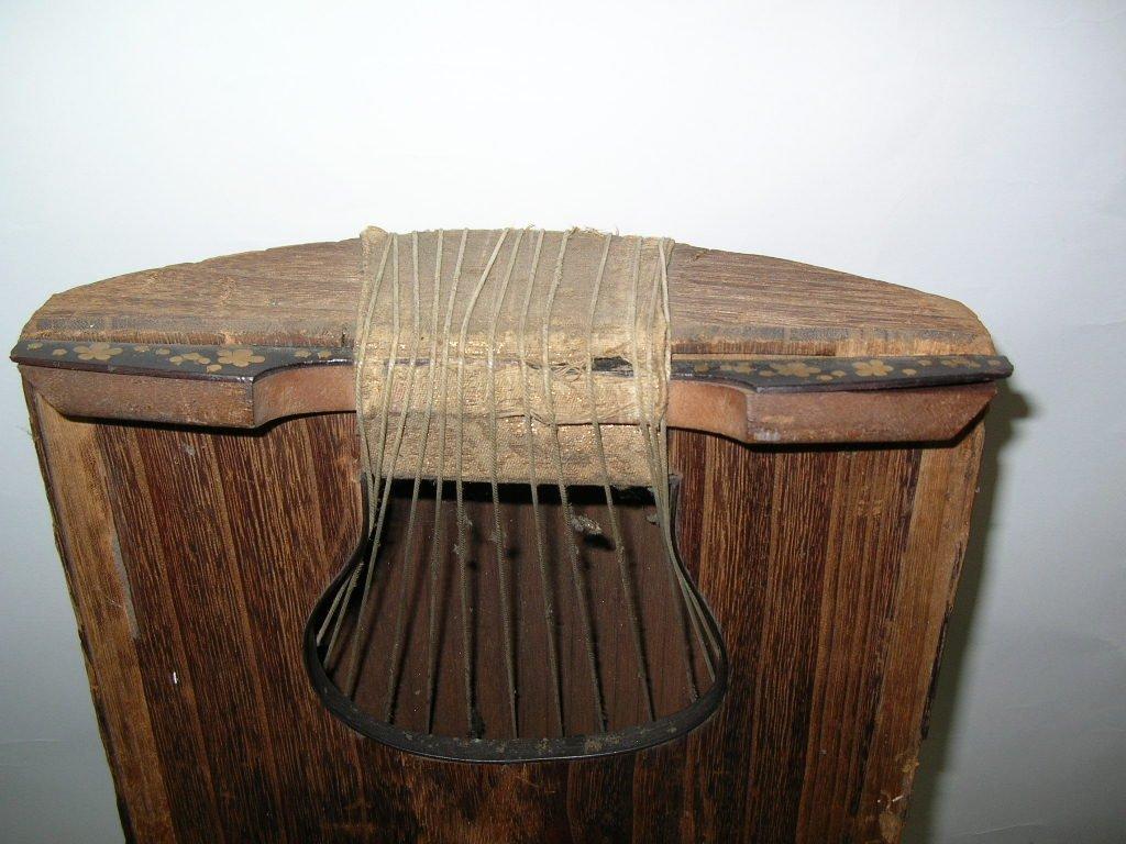 Antique Japanese 13-String Koto Guzheng - 7