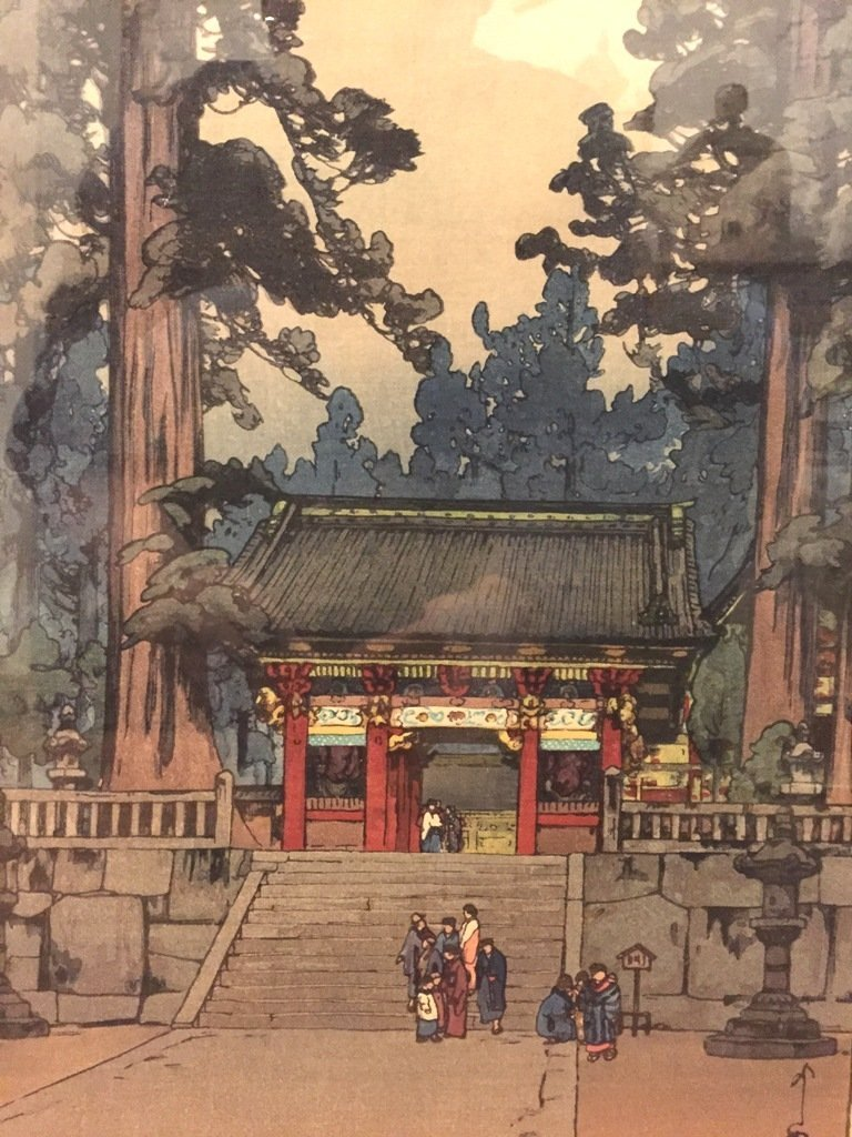 Pair of Unusual Japanese Woodblock Prints Hiroshi - 5