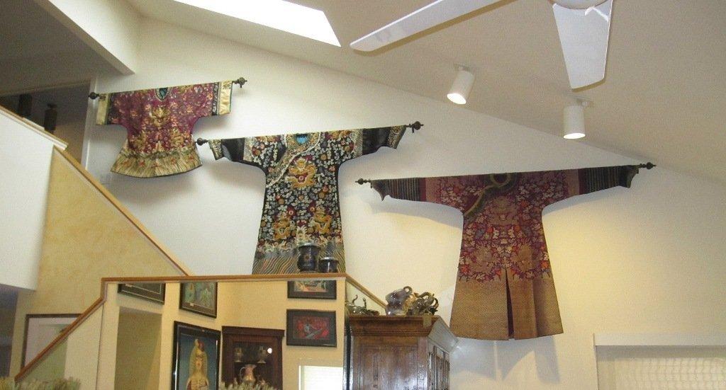 Imperial Purple Brocade Dragon Robe Jifu Late Qing Dy - 10