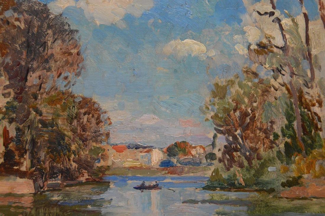 Albert Pinot (BELGIAN, 1875-1962) oil on panel, - 3