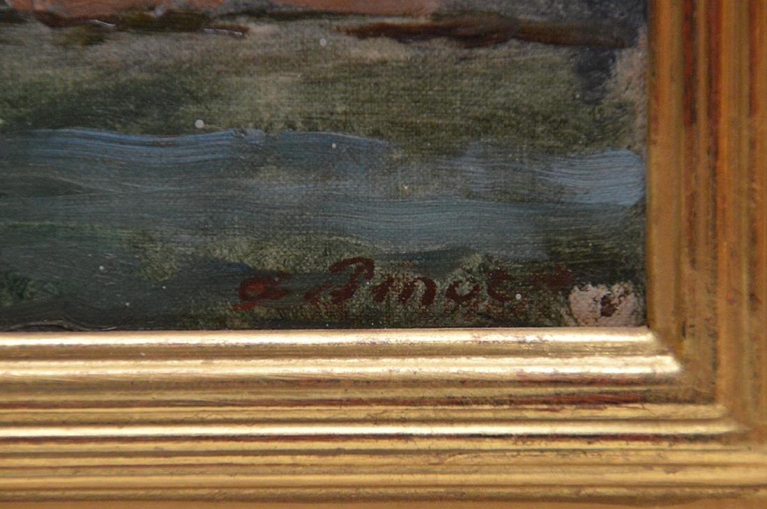 Albert Pinot (BELGIAN, 1875-1962) oil on panel, - 4