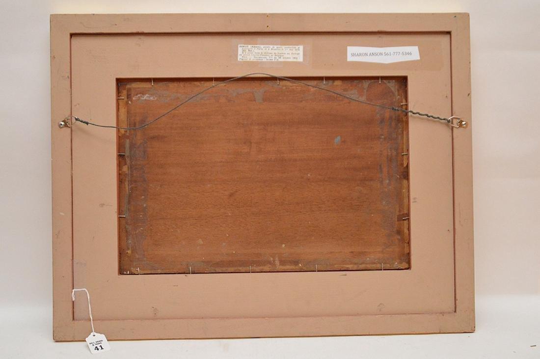 Albert Pinot (BELGIAN, 1875-1962) oil on panel, - 5