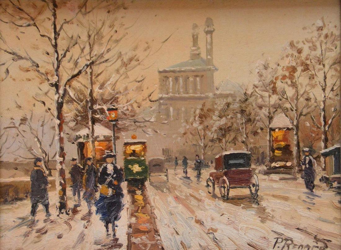 Paul Renard (French, 1941-1997) Paris Street Scene, - 2