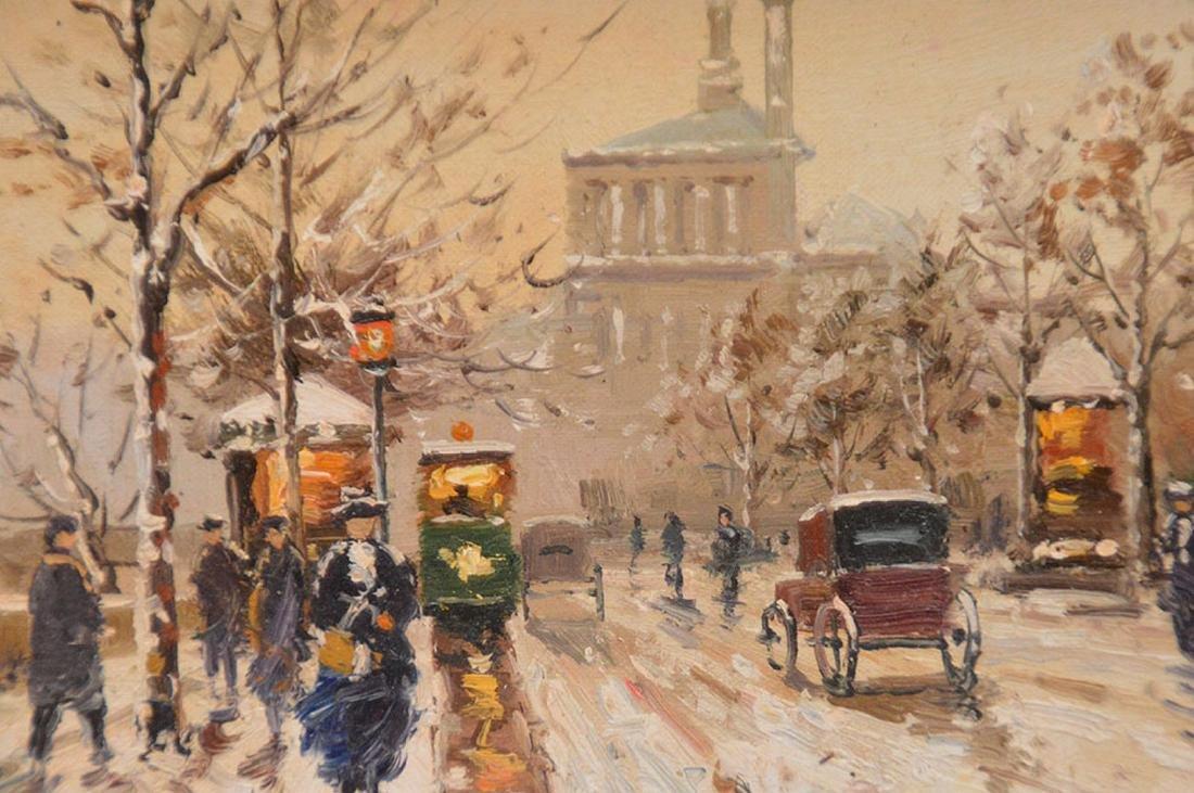 Paul Renard (French, 1941-1997) Paris Street Scene, - 3