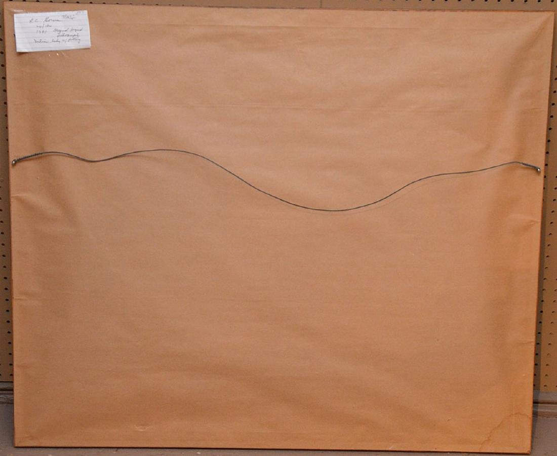 R. C. Gorman (Am, 1932-2005). Original Color Lithograph - 4